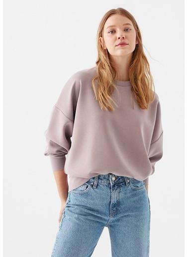 Mavi Mor Modal Sweatshirt Mor